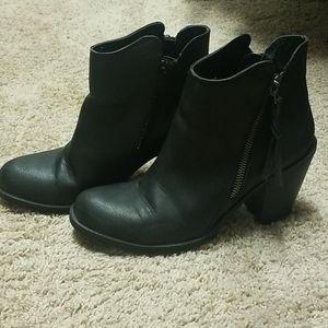 Black American Rag booties